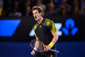 Andy Murray in semifinal
